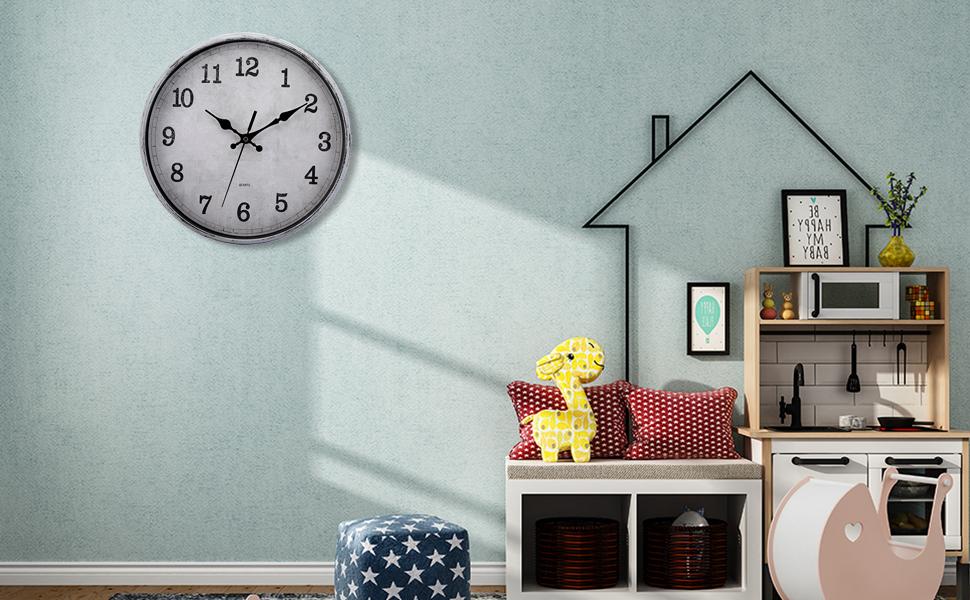cedilis vintage clock