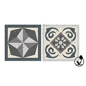Panorama Stickers Carrelage Adh/ésif Cuisine Salle de Bain 72 Pi/èces de 10x10cm The Shinig Bleue Sticker Autocollant Carrelage Autocollant adh/ésif en Vinyle pour Carreaux muraux