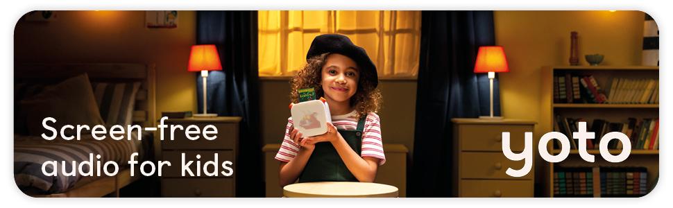 screen free audio for kids yoto
