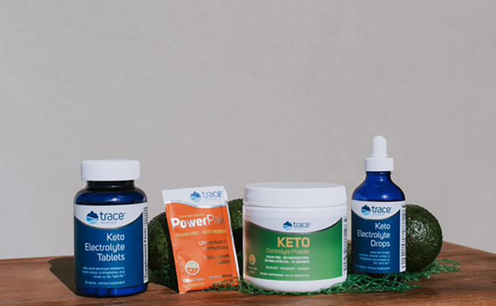 trace minerals, elctrolytes, keto diet, keto supplements, hydration, energy,