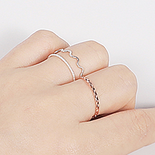 stacking with others rings