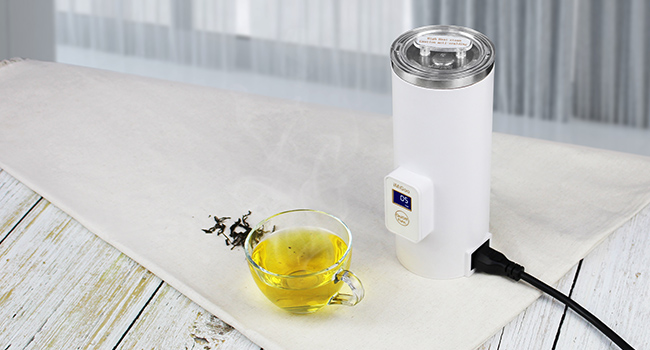 Make A Cup Of Fragrant Hot Coffee Anywhere