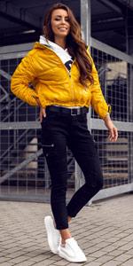 chaqueta de entretiempo cazadora ropa de abrigo mujer