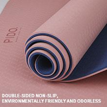 non pollution yoga mat