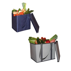 reusable grocery bags with reinforced sides and bottom
