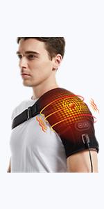 heated shoulder support