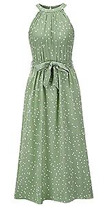 Polka Dot Dress for Women