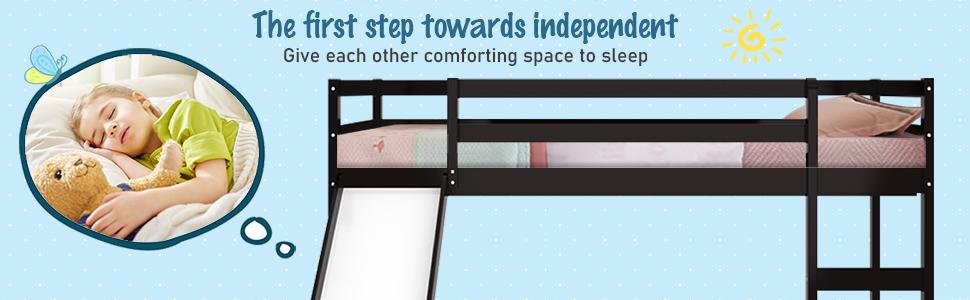 kids bunk bed frame