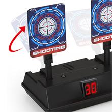 electronic target for nerf guns