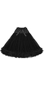Vintage Petticoat Tulle Underskirt