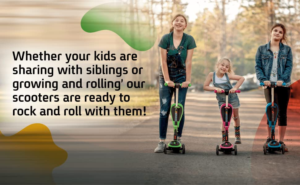 Kids, big, wheel, bike, boys, Scooter, child, ride, toys, kid, skidee, girl, princess girls electric