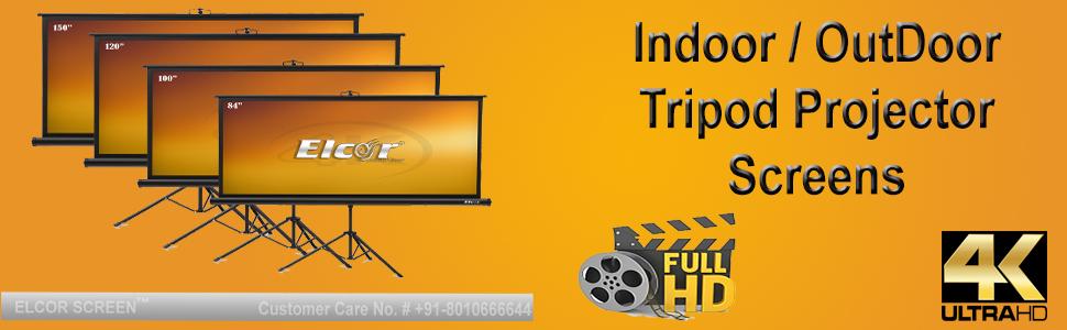tripod Projector screen 84 Inch diagonal