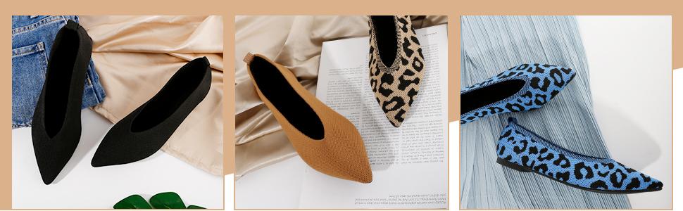 Ladies Flat Shoes Show