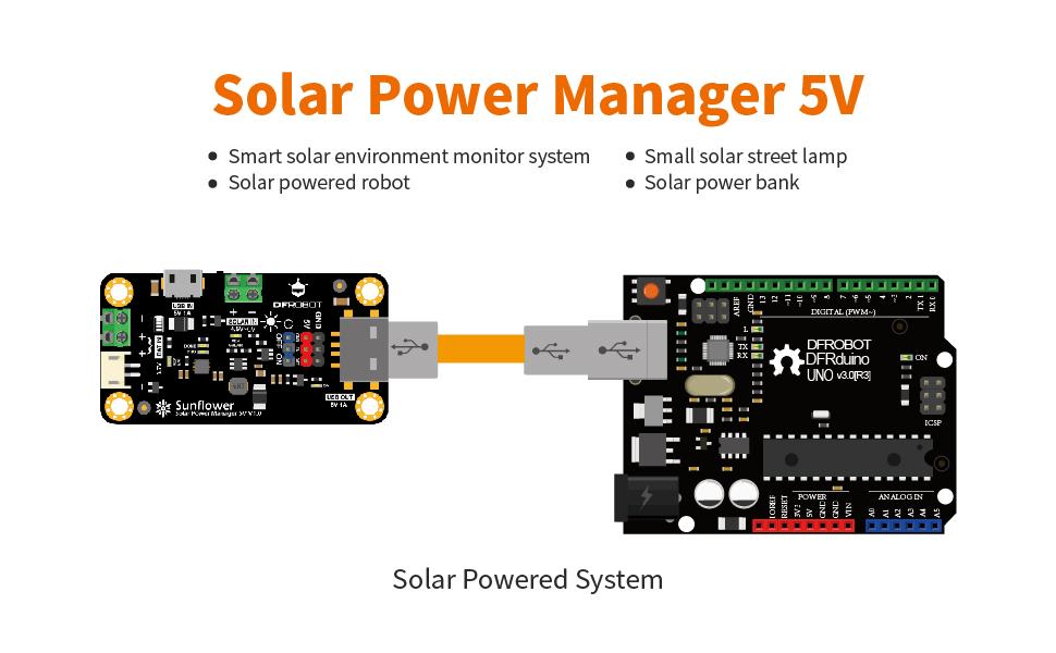 solar power manager 5V