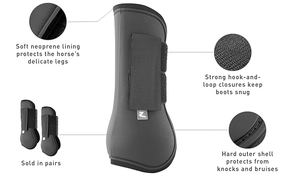Tendon Boot Features
