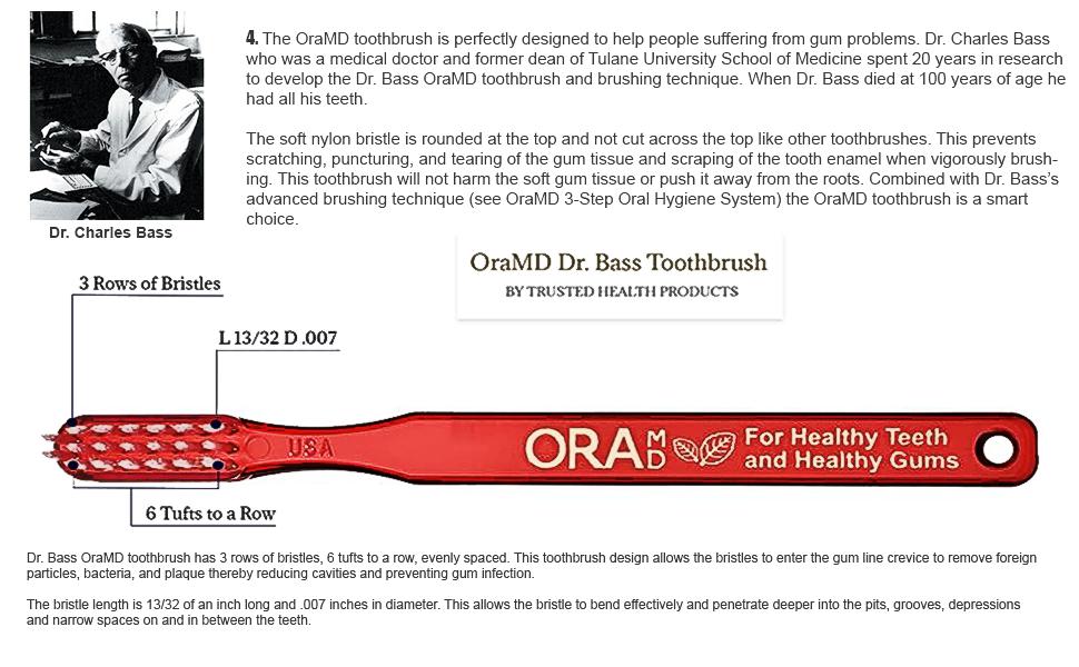 Ora MD toothbrush for teeth bad breath