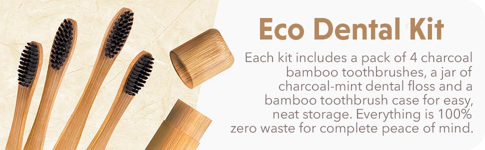 bamboo toothbrush wooden toothbrushes soft bristles medium Green Wood Charcoal eco toothbrush medium
