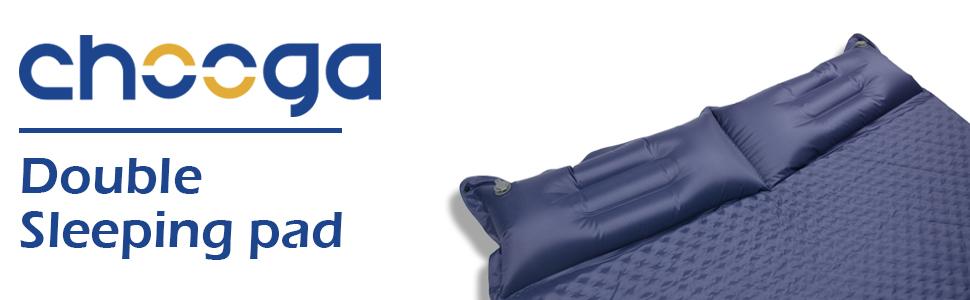 double sleeping pad