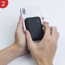 iWALK bateria Externa inalambrica,3000mAh Cargador inalambrico Universal Compatible coni Phone 11,XS,XR X,8,Plus,Compatible coni ...