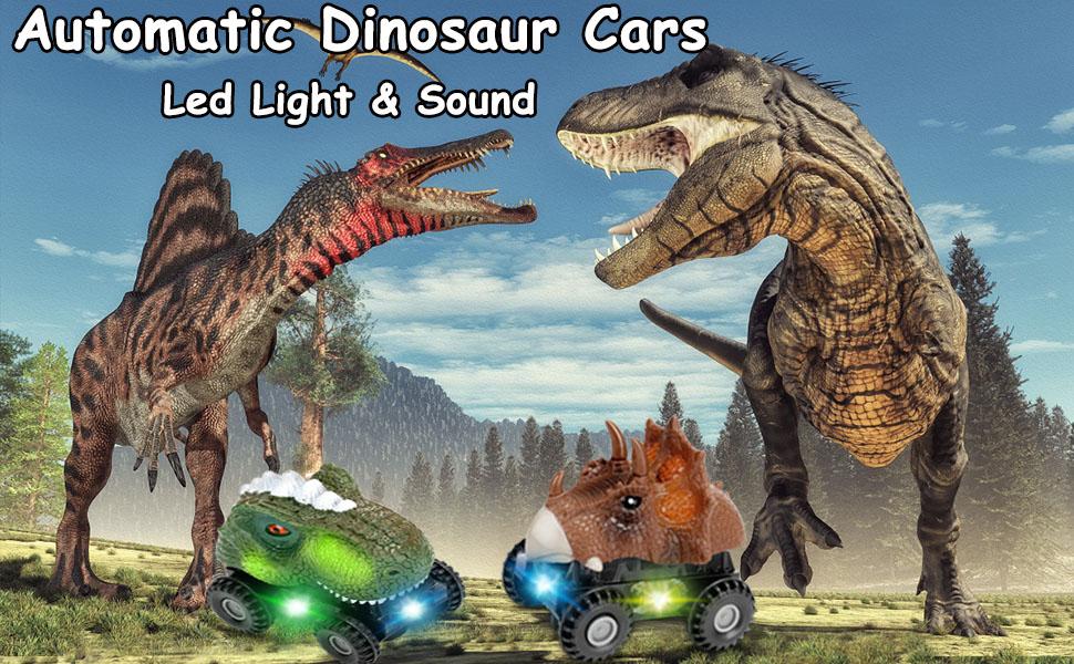 Dinosaur cars