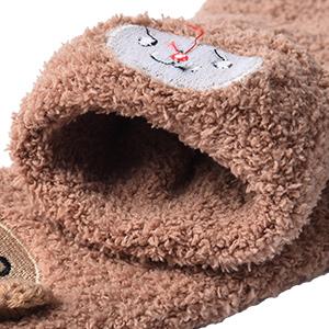 Calcetines de Invierno Calcetines de Piso Calientes para Niños y Niñas
