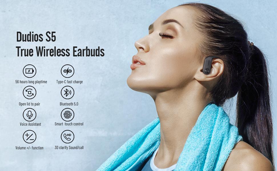 S5 wireless earbuds