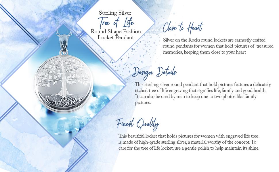sterling silver tree of life locket sterling silver tree of life locket pendant sterling silver lock