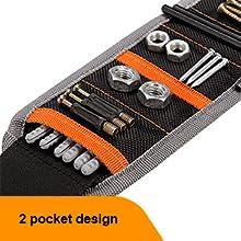 2 pocket design