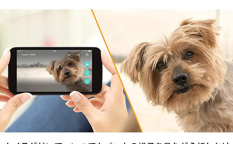 IoTペット家電 アプリケーション