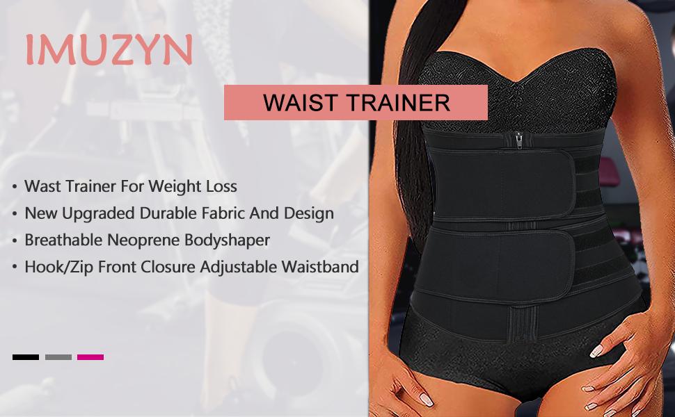 Lady Adjustable Waist Trimmer Body Shaper Gym Slimming Tummy Control Corset Belt