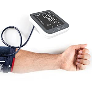 blood pressure monitor monitors machine bp arm upper cuff large wrist automatic pulse rate pressures