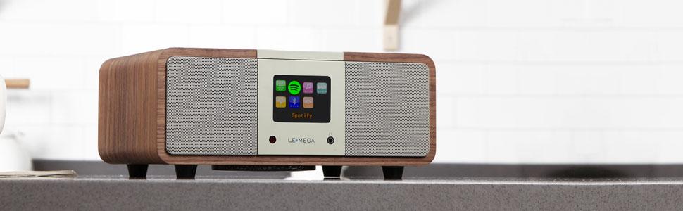 LEMEGA M3i Radio por Internet 2.1, Digital, WLAN, Reproductor en ...