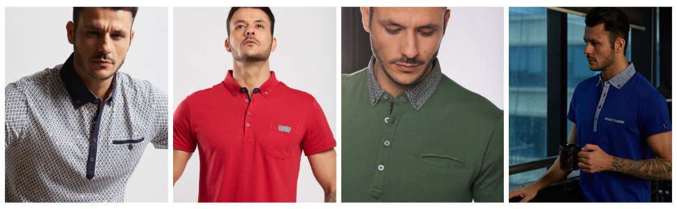 Polo Shirts Collage