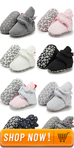baby cotton booties
