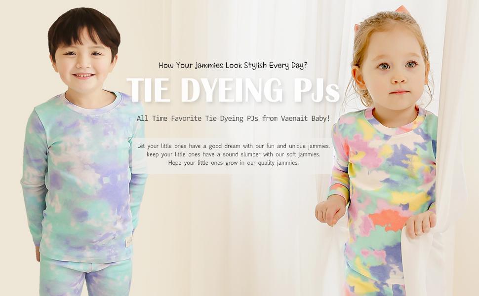 tiedye pajamas