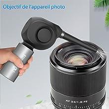 Objectif de l'appareil photo