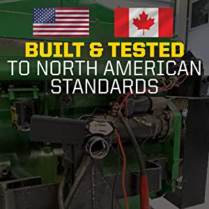 Quality Built tested North America Canada USA Rugged Quality Control Tough Durable Long Lasting
