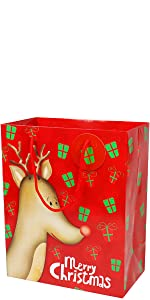 large christmas gift bags assorted sizes