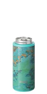 Swig Life insulated skinny can cooler slim koozie coozie cold 12 hours dishwasher safe cooler 12oz