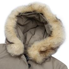Thick coat