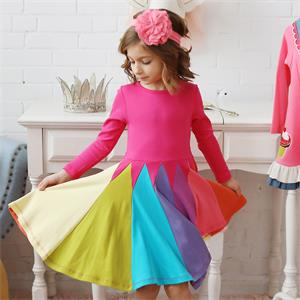 long sleeve dress for girl