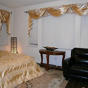 waterfall window valance swag and tails