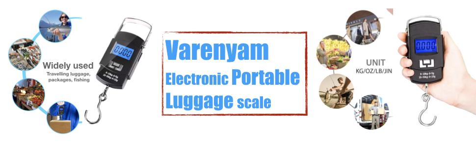 Varenyam Electronic Portable Luggage Scale