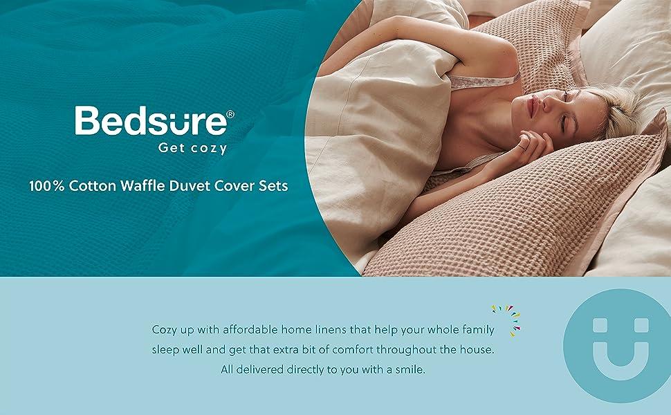 waffle duvet cover set