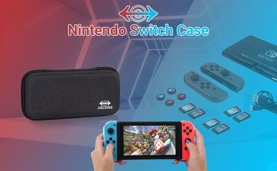 Nintendo switch storage travel case