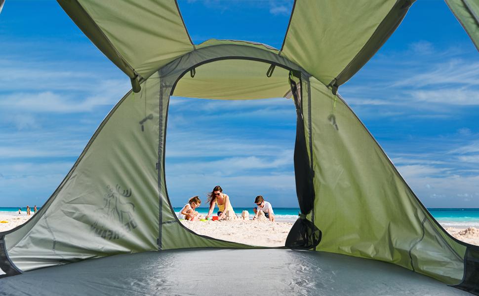 deerfamy beach tent