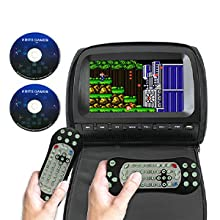 8 Bits Game Discs & Multi-Function Remote Control as Gamepad