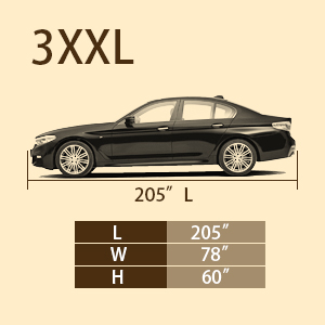 car cover size
