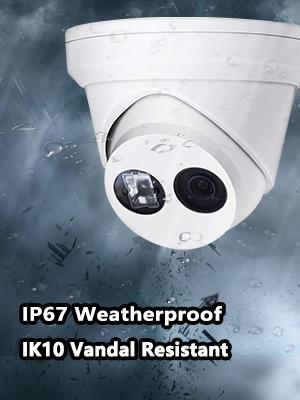 waterproof outdoor ip camera