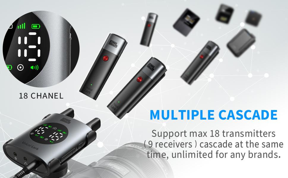 multiple casecade